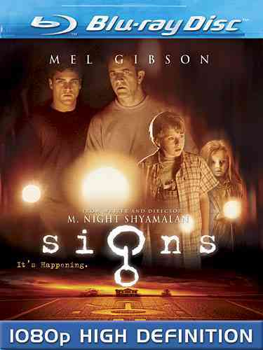 SIGNS BY GIBSON,MEL (Blu-Ray)